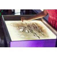 Мастер-класс рисования песком Sand Art