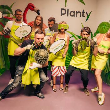 Planty - вечеринка+флорариум!