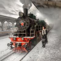 Путешествие на ретропоезде с Балтийского вокзала