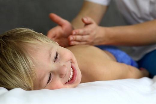 Детский тайский массаж «Маленький Будда»