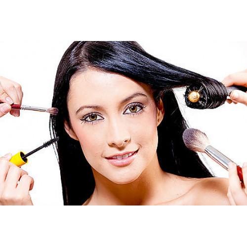 Профессиональный макияж и укладка