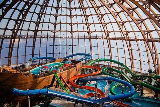 Аквабатут в аквапарке Питерленд