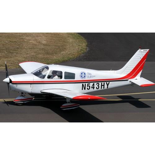 Ознакомительный  полет на самолете  с возможностью управления для 2-3 человек