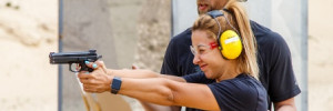 Стрельба в подарок в огнестрельном тире